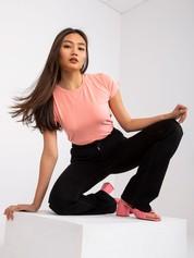 Brzoskwiniowy t-shirt Peachy