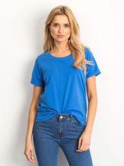 Ciemnoniebieski t-shirt Transformative