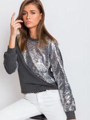 Ciemnoszara bluza Shine