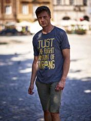 Butik Ciemnoszary t-shirt męski MINIONKI