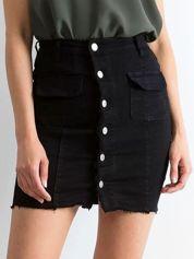 Czarna spódnica Buttons