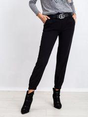 Czarne spodnie Impulsive