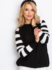 Czarny sweter Independent
