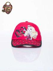 Czerwona czapka z daszkiem dla dziewczynki EVER AFTER HIGH