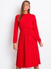 Czerwona sukienka Smooth