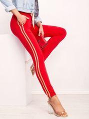 Czerwone spodnie Voila