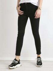Damskie spodnie skinny czarne