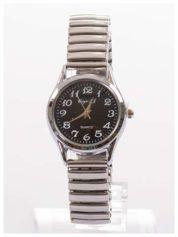 Delikatny damski zegarek na elastycznej bransolecie