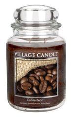 Duża świeca zapachowa Village Candle - Ziarna kawy  645 gr