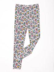 FURBY Jasnoszare legginsy dla dziewczynki