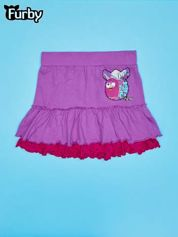 Fioletowa spódnica dla dziewczynki FURBY