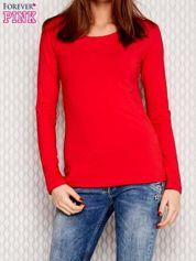 Gładka bluzka czerwona