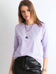 Jasnofioletowa bluzka April