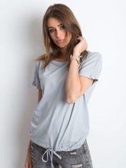 Jasnografitowy t-shirt Curiosity