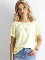 Jasnożółty t-shirt Fire