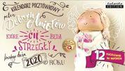KUKARTKA Kalendarz pocztówkowy na rok 2020 DOBRE ANIOŁY. 12 pocztówek GRATIS!