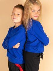 Kobaltowa bluza młodzieżowa