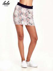 Butik Kwiatowa spódnica mini z gumą w pasie