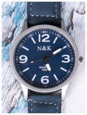 N & K granatowy zegarek RETRO FASHION