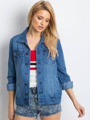 Niebieska kurtka Minimalist