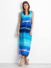 Niebieska sukienka Lagoon