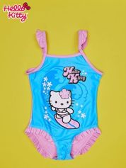 Niebieski strój kąpielowy dla dziewczynki HELLO KITTY