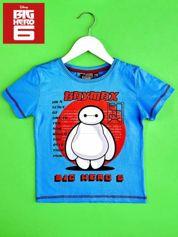 Niebieski t-shirt chłopięcy WIELKA SZÓSTKA