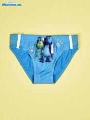 Niebieskie chłopięce kąpielówki POTWORY I SPÓŁKA