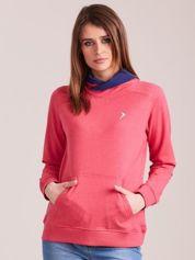 Outhorn Ciemnoróżowa bluza kangurka
