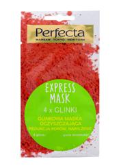 """Perfecta Express Mask Glinkowa Maska oczyszczająca - 4 Glinki  8ml"""""""