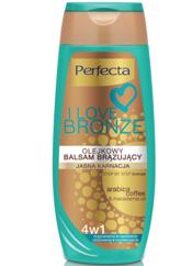 """Perfecta I Love Bronze Balsam brązujący olejkowy 4w1 jasna karnacja 250ml"""""""