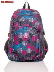 Plecak szkolny motyw graficzny