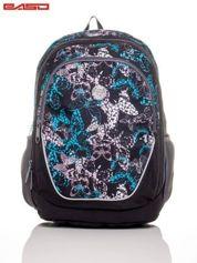 Plecak szkolny z nadrukiem motyli