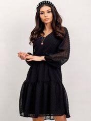 RUE PARIS Czarna sukienka Jessie