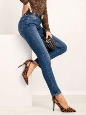 RUE PARIS Niebieskie jeansy Timeless
