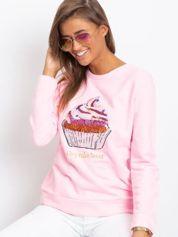Różowa bluza Shaina