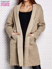 Sweter oversize beżowy