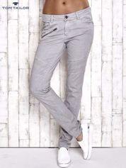 TOM TAILOR Szare materiałowe spodnie