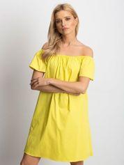 Żółta sukienka Publicity