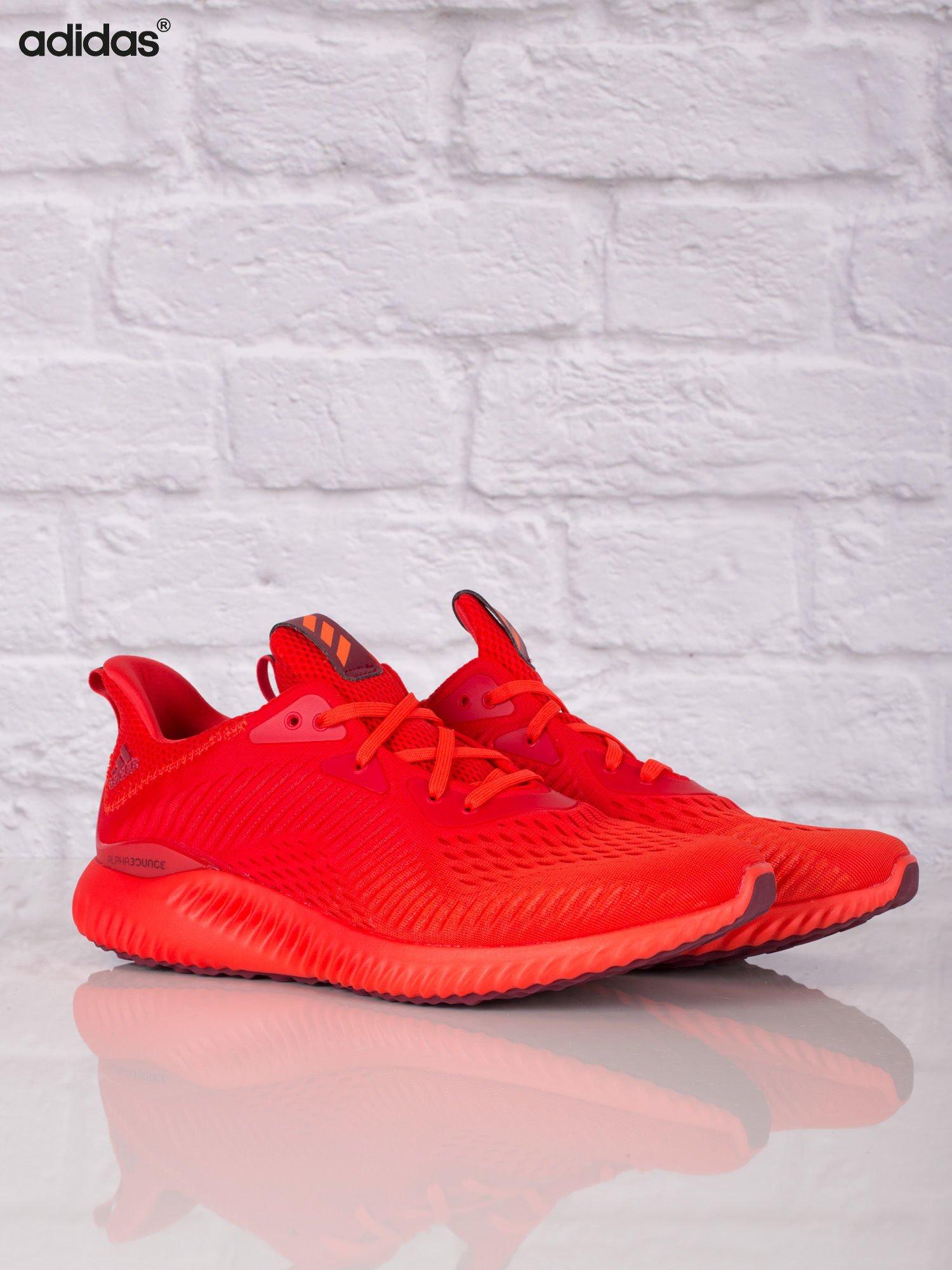 adidas czerwone męskie