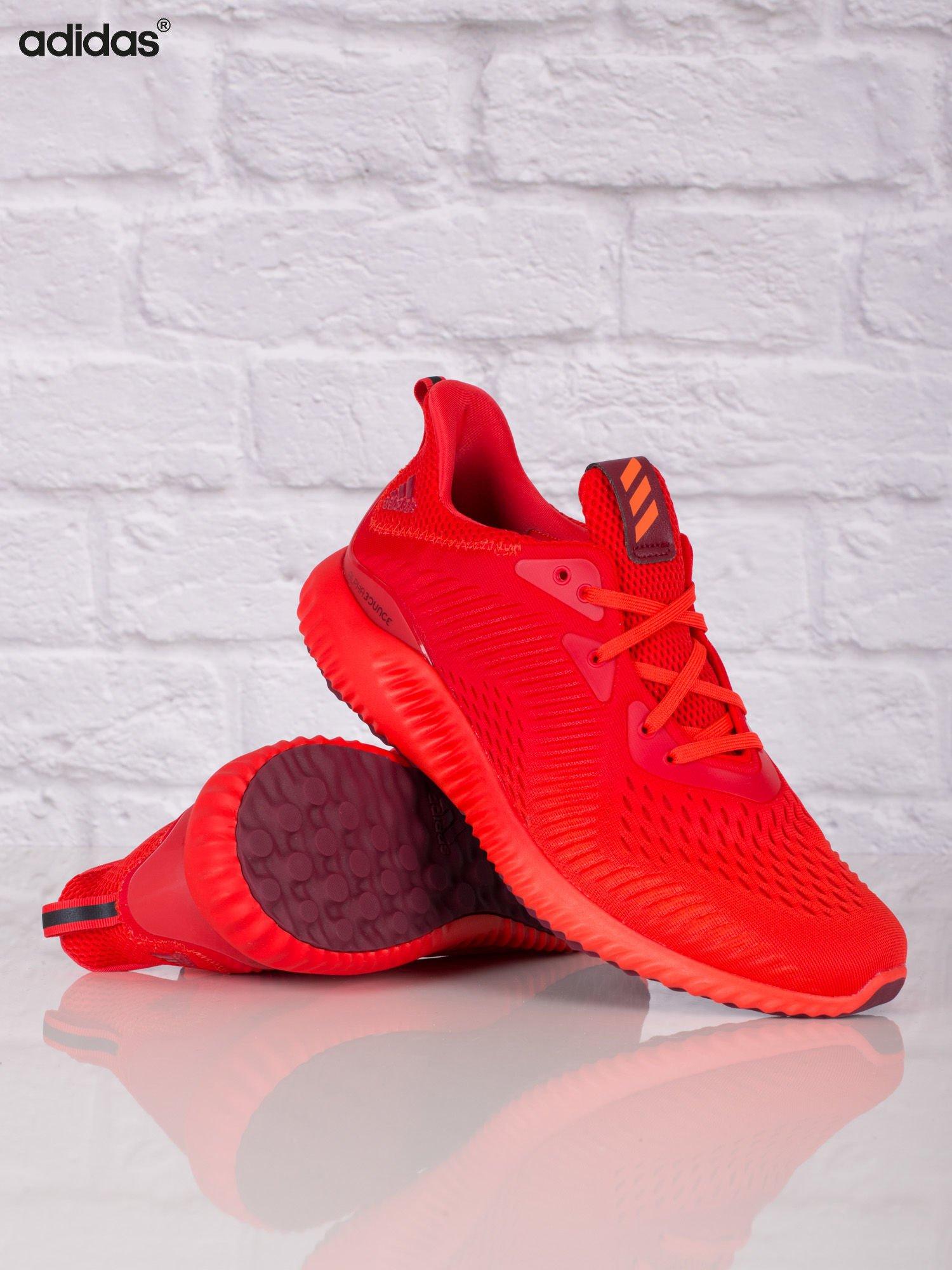 d4b35bca7829c5 ADIDAS Czerwone buty sportowe męskie alphabounce EM - Mężczyźni Buty ...