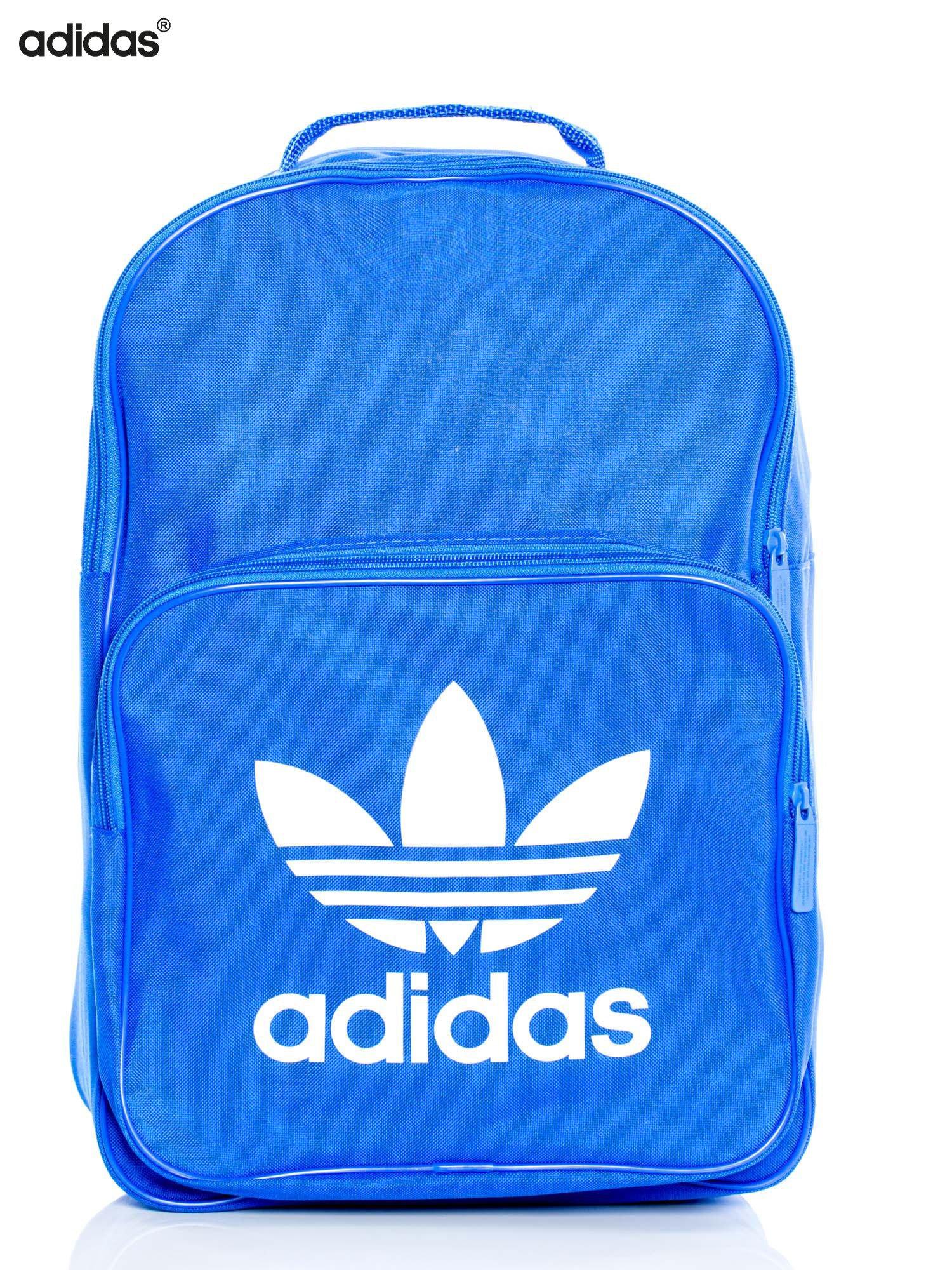wyprzedaż sekcja specjalna zakupy ADIDAS Niebieski usztywniany plecak BK6722 BP CLAS TREFOIL