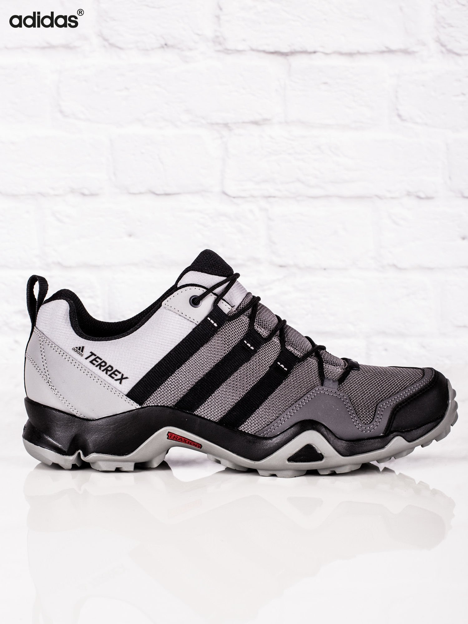 57f08f04b8cc3b ADIDAS Szare męskie buty sportowe TERREX AX2R - Mężczyźni Buty ...