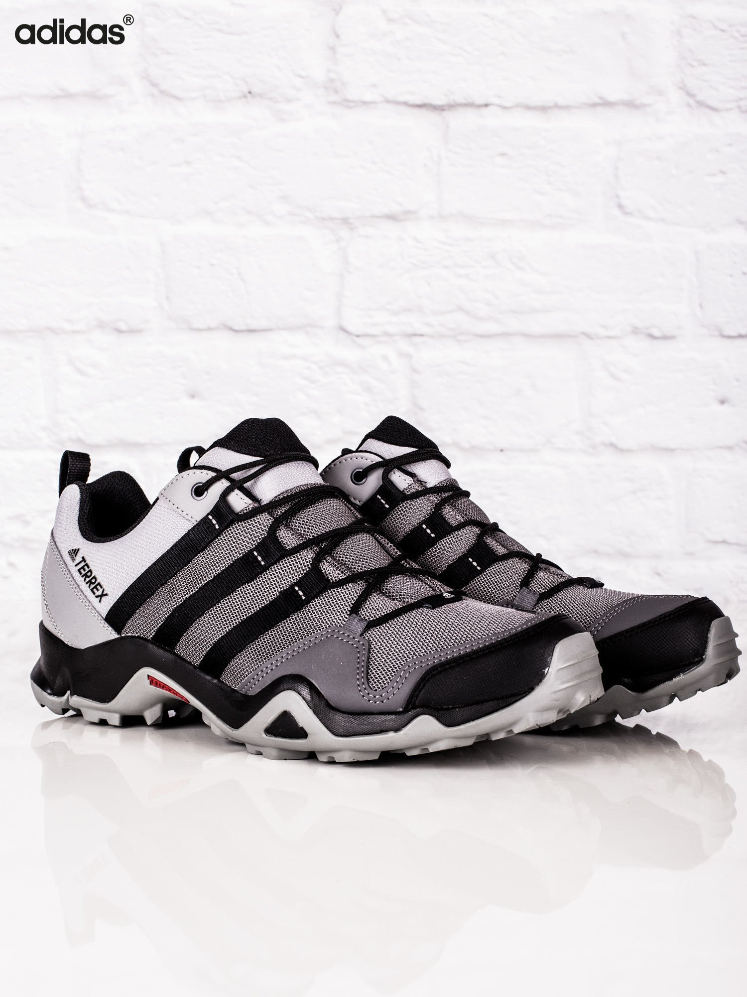 7b93333c ADIDAS Szare męskie buty sportowe TERREX AX2R - Mężczyźni Buty ...