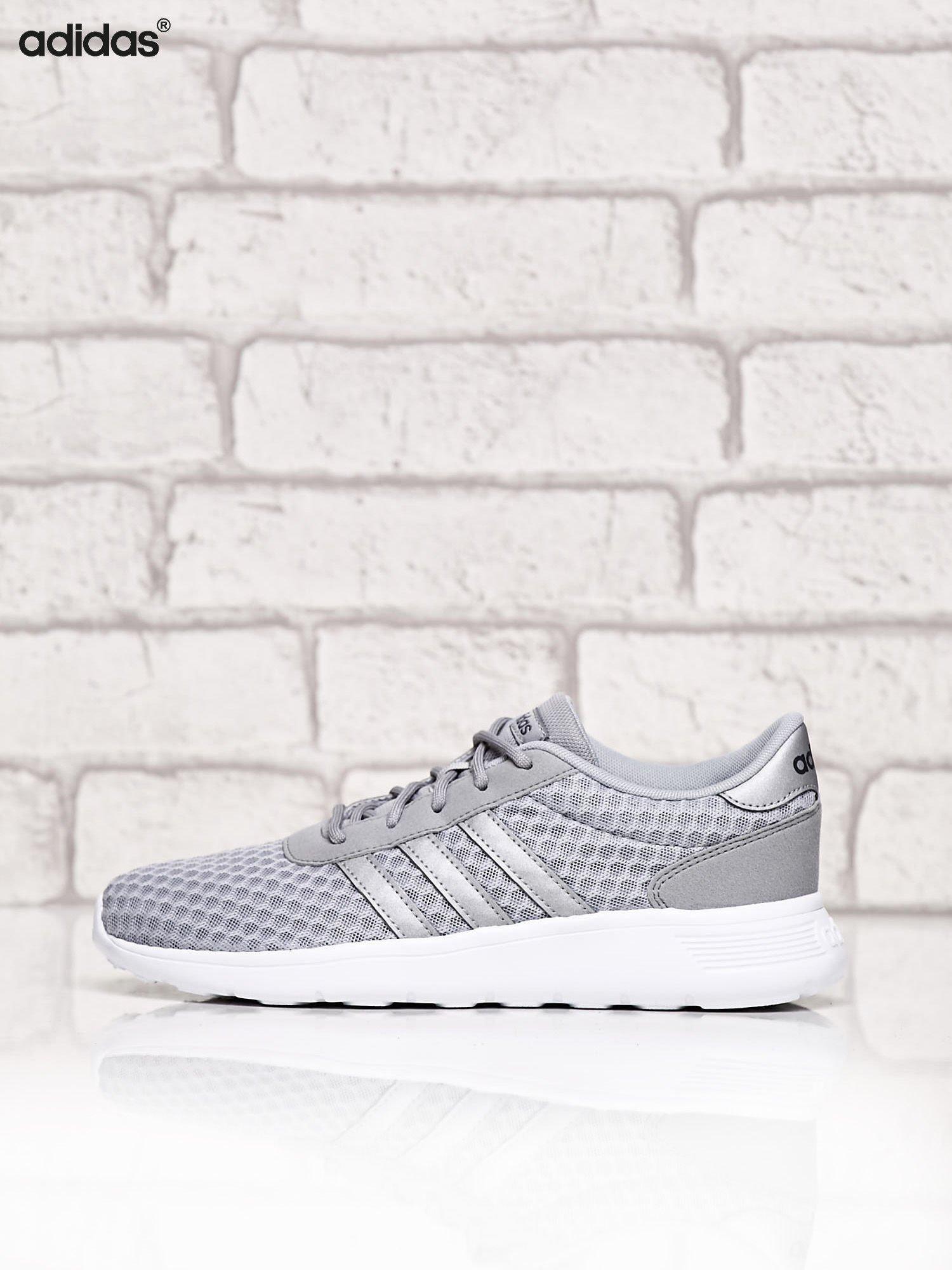 ADIDAS srebrne buty sportowe LITE RACER W ze wzorem                                  zdj.                                  5