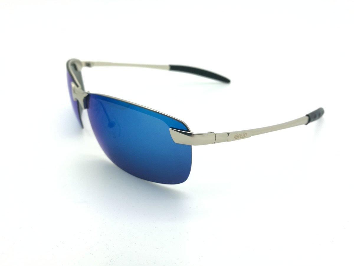 Okulary przeciwsłoneczne ASPEZO Daytona, niebieskie | Moda