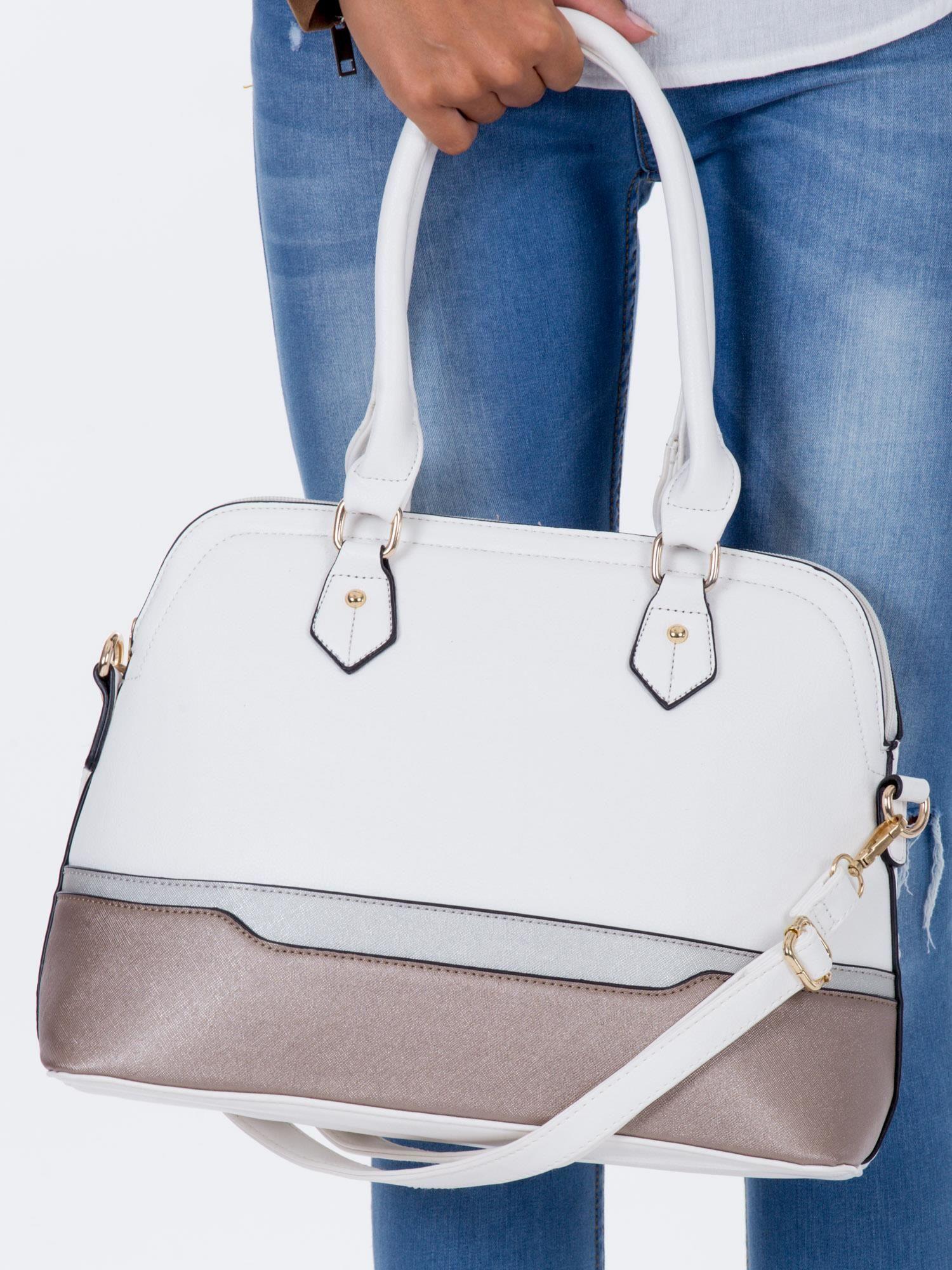 826f88d7b746e Biała modułowa torba w miejskim stylu - Akcesoria torba - sklep ...