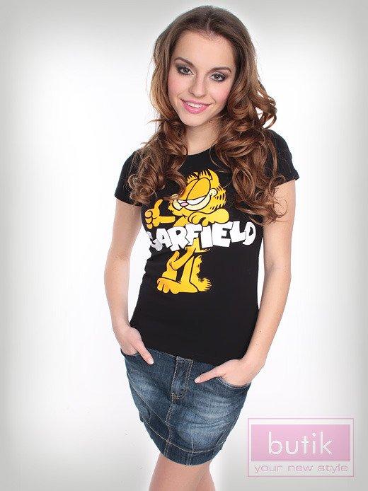 Bluzka z wizerunkiem Garfielda                                  zdj.                                  1