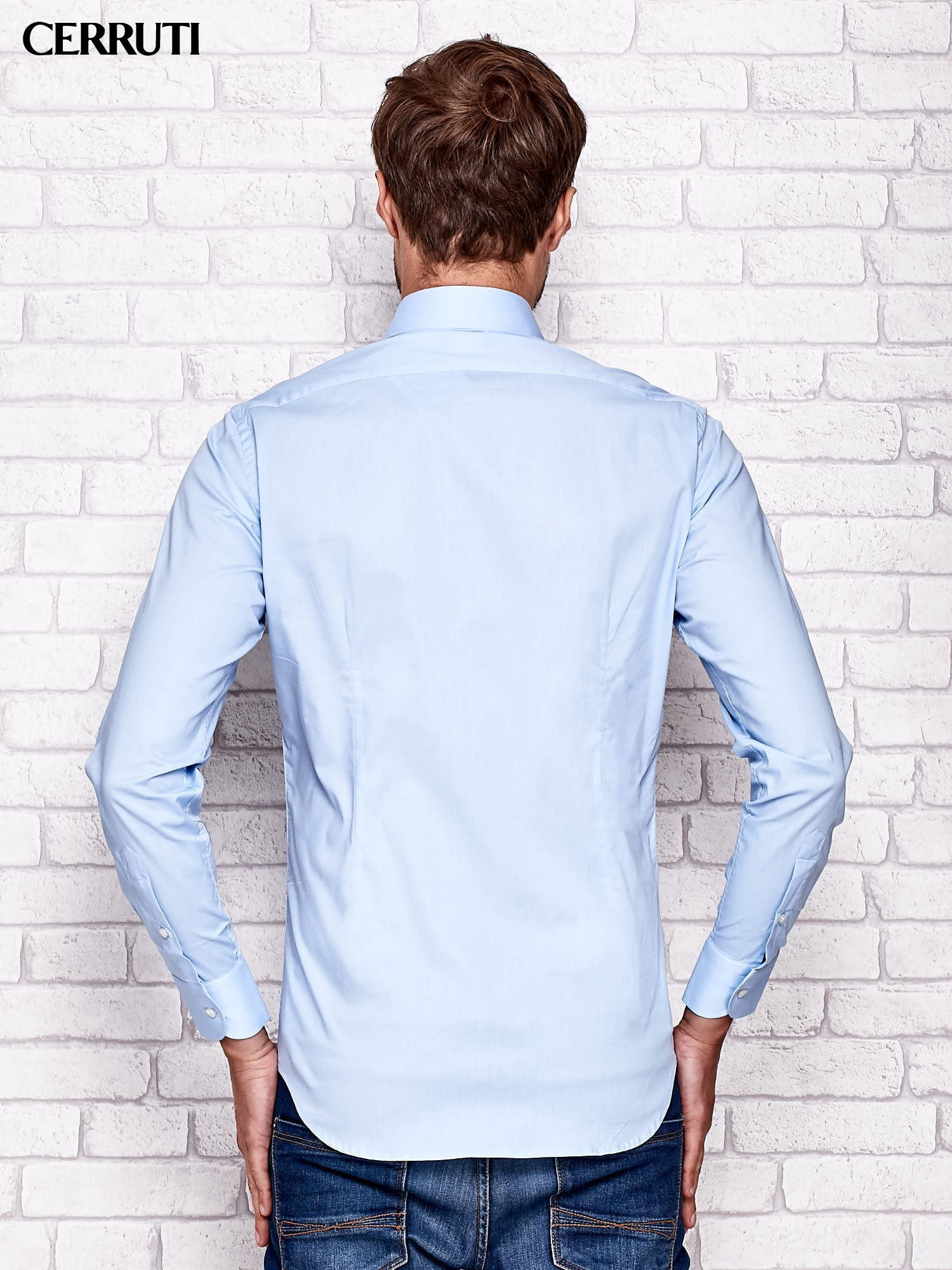 CERRUTI Jasnoniebieska koszula męska