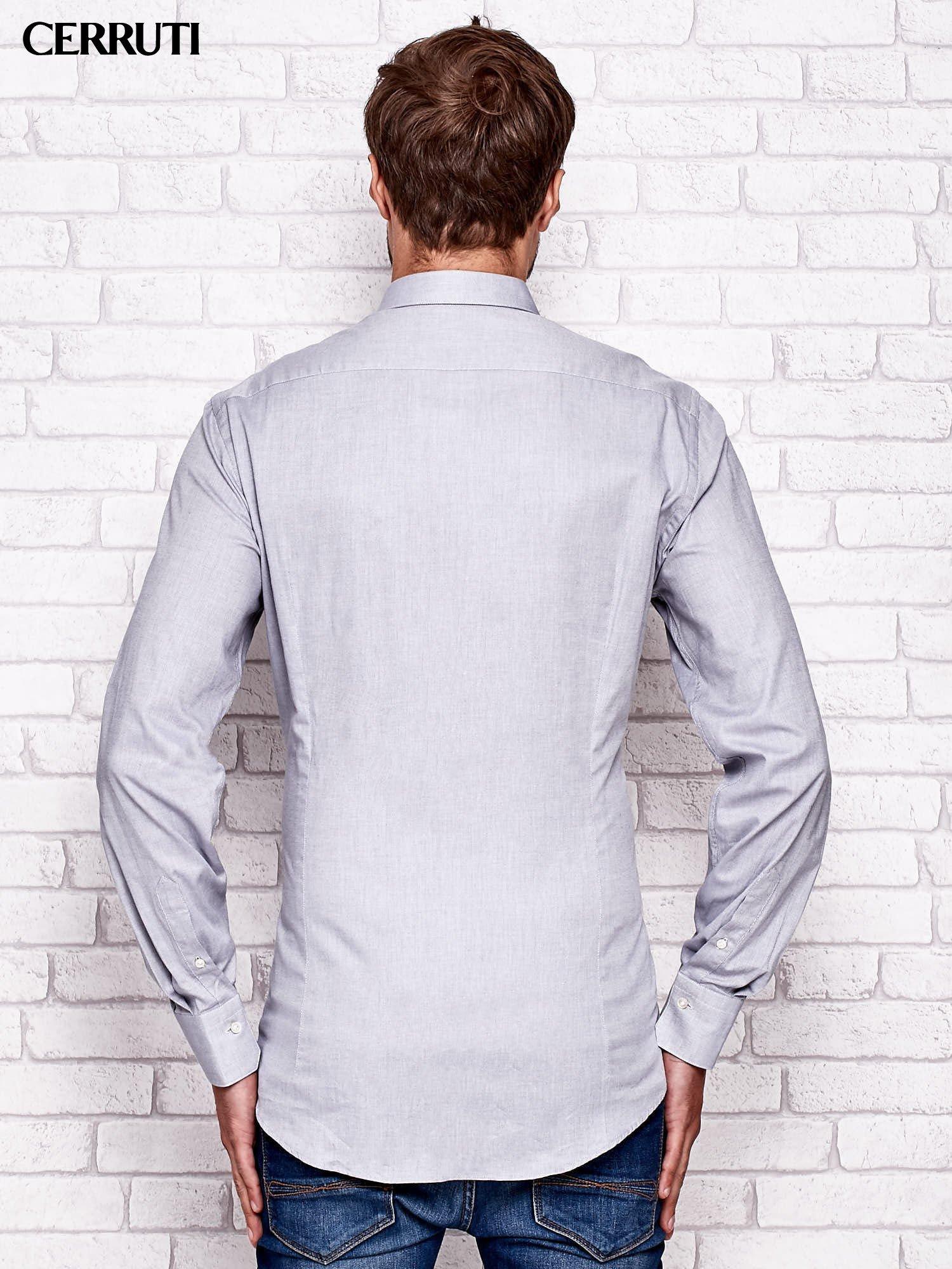 494a362abec3 CERRUTI Jasnoszara koszula męska - Mężczyźni koszula męska - sklep ...